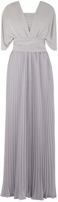 Oasis Wear It Your Way Pleated Maxi Dress