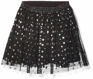 Spotted Zebra Sparkle Tutu Skirt Black Stars Small (6-7)