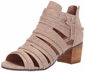Not Rated Cullie Low Heel Open Toe Shoetie with Braided Detail