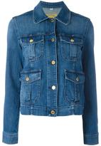 MICHAEL Michael Kors multiple pockets denim jacket - women - Cotton/Spandex/Elastane - M