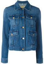 MICHAEL Michael Kors multiple pockets denim jacket - women - Cotton/Spandex/Elastane - XS
