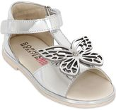 Sophia Webster Butterfly Metallic Nappa Leather Sandals