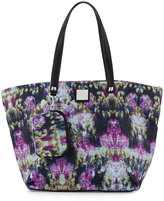 Nicole Miller City Life Printed Tote Bag, Canopy/Black