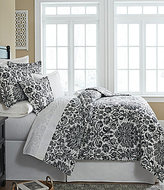 Southern Living Richland Floral Damask Comforter Mini Set