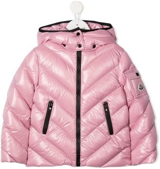 Moncler Enfant Padded Zip-Up Jacket