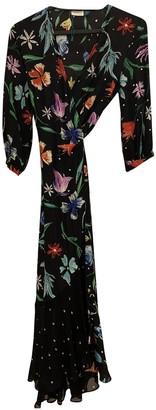 Ganni Spring Summer 2019 Multicolour Silk Dresses