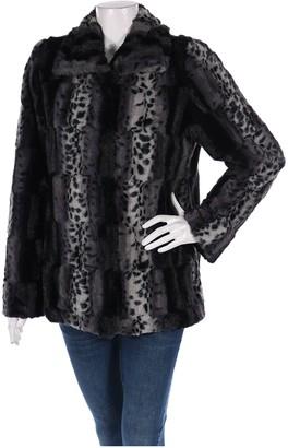 Dennis Basso Grey Faux fur Coat for Women