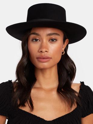 Janessa Leone Gabrielle Wool Bolero Hat