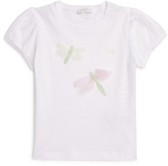 Il Gufo Cotton Dragonfly T-Shirt (3 Months-4 Years)
