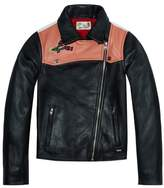 Scotch & Soda Leather Biker Jacket