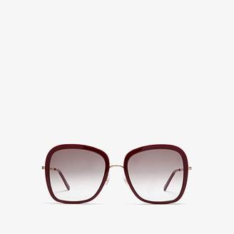 Stella McCartney SC0206S (Burgundy) Fashion Sunglasses