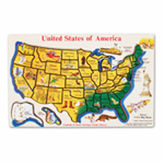 Melissa & Doug Large USA Map