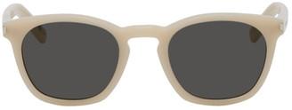 Saint Laurent White SL 28 Sunglasses
