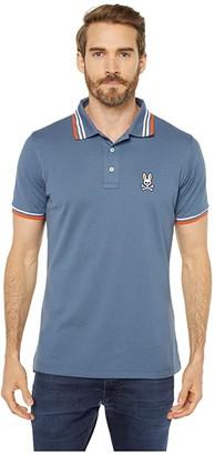 Psycho Bunny Woburn Sports Polo (Normandy) Men's Clothing