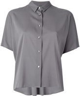 Eleventy short-sleeved button fastening shirt