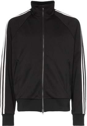 Y-3 triple stripe high neck track jacket