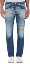 AG Jeans MEN'S DISTRESSED THE MATCHBOX JEANS-BLUE SIZE 32