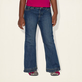 Children's Place Ruffle flare jeans - sapphire