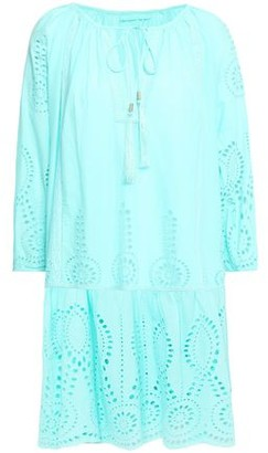 Melissa Odabash Ashley Broderie Anglaise Cotton Coverup