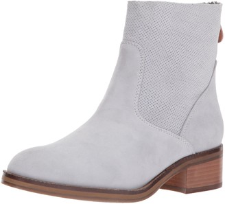 Gentle Souls by Kenneth Cole Women's Parker Bootie with Textured Unlined Shaft Ankle Boot