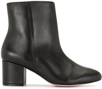 Schutz Block Heel Ankle Boots