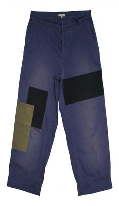 Bellerose Blue Cotton Trousers