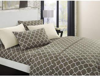 Chic Home Illusion 12-Pc King Sheet Set Bedding