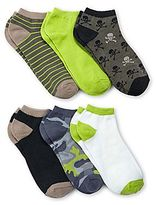 JCPenney 6-pk. Camouflage Print No-Show Socks