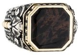 Stephen Webster Two-Tone Jasper Signet Ring