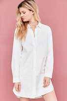 BDG Button-Down Shirt Mini Dress