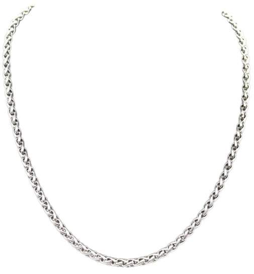 David Yurman 925 Sterling Silver Wheat Chain Necklace