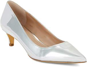 Charles by Charles David Kitten Speccio Smooth Leather Pumps