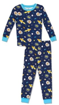 with me. Free 2 Dream Boys Toddler, Little and Big Astro Pug Print 2 Piece Cotton Pajama Set with Grow Cuffs