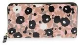 Kate Spade Women's Cedar Street - Lacey Floral Zip Around Wallet - Pink