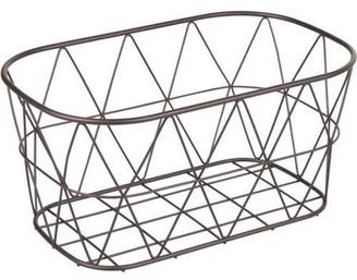 Better Homes & Gardens Small Bathroom Bronze Wire Storage Basket, 1 Each