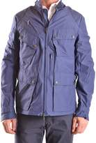 Brema Men's Blue Cotton Outerwear Jacket.