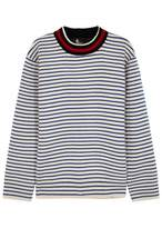 Moncler Grenoble Striped Wool Jumper