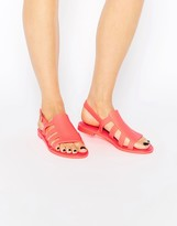 Melissa Bohemia Strappy Flat Sandals