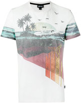Just Cavalli beach print T-shirt - men - Cotton - S