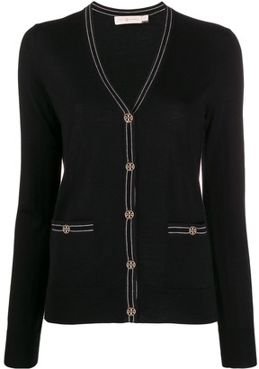Tory Burch Long Sleeve Cardigan