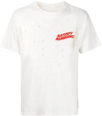 Satisfy Moth Eaten organic-cotton T-Shirt