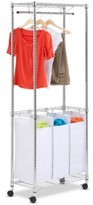 Honey-Can-Do Rolling Laundry Center, Urban Chrome