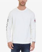Nautica Men's Signature Crew-Neck Intarsia Sweater