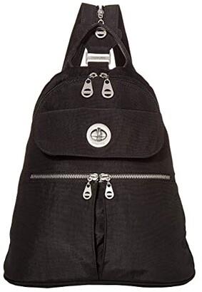 Baggallini International Naples Convertible Backpack (Black) Backpack Bags