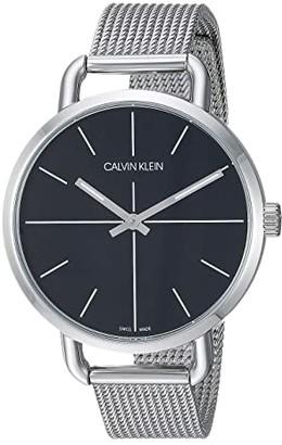 Calvin Klein Even - K7B23121 (Stainless Steel/Black) Watches