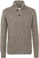 Fat Face Stratton Cable Half Neck Jumper
