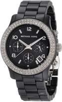 Michael Kors Women's MK5190 Ceramic Runway Glitz Watch