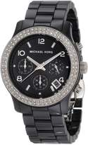 Michael Kors Women's Runway Glitz MK5190 Ceramic Quartz Watch