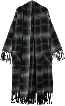 Max & Co. Longline Check Coat