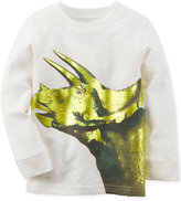 Carter's Toddler Boys' Long-Sleeve Graphic-Print T-Shirt